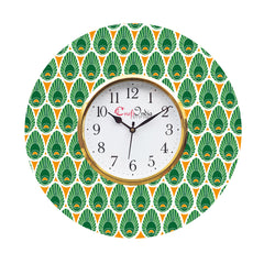 kwc906-ecraftindia-ethnic-design-wooden-colorful-round-wall-clock_1