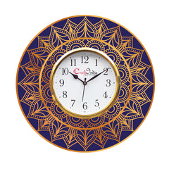 kwc907-ecraftindia-ethnic-design-wooden-colorful-round-wall-clock_1