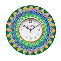 kwc908-ecraftindia-ethnic-design-wooden-colorful-round-wall-clock_1