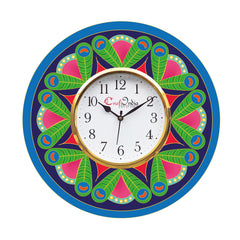 kwc913-ecraftindia-ethnic-design-wooden-colorful-round-wall-clock_1