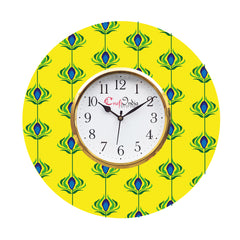 kwc915-ecraftindia-ethnic-design-wooden-colorful-round-wall-clock_1