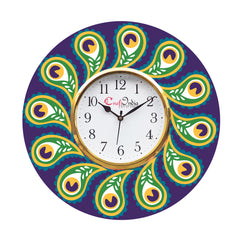 kwc917-ecraftindia-ethnic-design-wooden-colorful-round-wall-clock_1