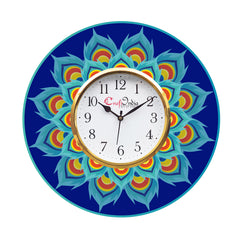 kwc921-ecraftindia-ethnic-design-wooden-colorful-round-wall-clock_1