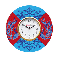 kwc927-ecraftindia-ethnic-design-wooden-colorful-round-wall-clock_1