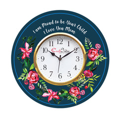 kwc934-ecraftindia-special-thanks-to-mother-theme-wooden-colorful-round-wall-clock_1
