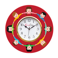 kwc936-ecraftindia-friendship-theme-wooden-colorful-round-wall-clock_1