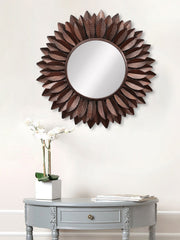 MIIWCACF_2401_M-eCraftIndia-Brown-Decorative-Metal-Handcarved-Wall-Mirror_1
