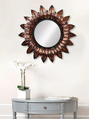 MIIWCACF_2402_R-eCraftIndia-Brown,-Copper-and-Black-Decorative-Metal-Handcarved-Wall-Mirror_1