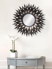 MIIWCACF_2407_M-eCraftIndia-Brown-and-Black-Decorative-Metal-Handcarved-Wall-Mirror_1