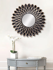 MIIWCACF_2408_M-eCraftIndia-Brown-and-Black-Decorative-Metal-Handcarved-Wall-Mirror_1