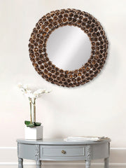 MIIWCACF_2410_M-eCraftIndia-Golden,-Brown-and-Black-Decorative-Metal-Handcarved-Wall-Mirror_1