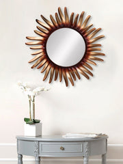 MIIWCACF_2415_M-eCraftIndia-Copper,-Brown-and-Black-Decorative-Metal-Handcarved-Wall-Mirror_1