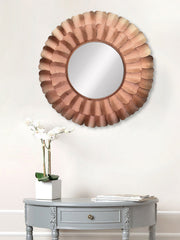 MIIWCACF_2416_M-eCraftIndia-Copper-Decorative-Metal-Handcarved-Wall-Mirror_1