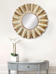MIIWCACF_2421_M-eCraftIndia-Golden-Decorative-Metal-Handcarved-Wall-Mirror_1