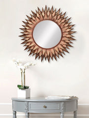 MIIWCACF_2422_M-eCraftIndia-Copper-Decorative-Metal-Handcarved-Wall-Mirror_1