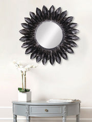 MIIWCACF_2423_M-eCraftIndia-Black-Decorative-Metal-Handcarved-Wall-Mirror_1
