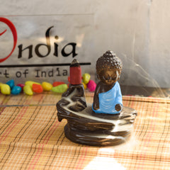 msbih109_bl-ecraftindia-meditating-monk-buddha-smoke-fountain-with-10-backflow-cone-decorative-incense-holder_1