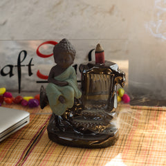 MSBIH115_GR-eCraftIndia-Meditating-Monk-Buddha-Smoke-Fountain-with-10-Backflow-Cone-Decorative-Incense-Holder_1