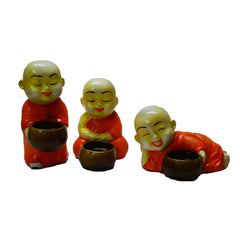 ecraftindia-set-of-3-monks-candle-holder-orange_1