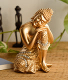 ecraftindia-golden-buddha-on-knee-polyresin-showpiece_1