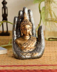 ecraftindia-golden-silver-handcrafted-buddha-palm_1