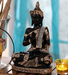 msgb562-ecraftindia-handcrafted-decorative-meditating-buddha-size-25cmxgolden-and-blackxpolyresin-1-lord-buddha-idol_1