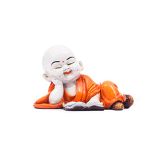 msgb581-ecraftindia-polyresin-resting-buddha-orange_1