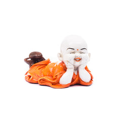 msgb582-ecraftindia-polyresin-resting-buddha-orange_1