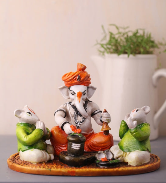 ecraftindia-lord-ganesha-performing-shiva-pooja-with-2-rats_1