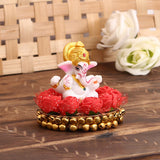 MSGG569-eCraftIndia-Lord-Ganesha-idol-on-Decorative-Plate-for-Car-and-Home_1