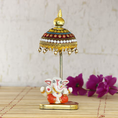 msggcar513-ecraftindia-decorative-lord-ganesha-showpiece-with-chatri-for-car-dashboard-home-temple-and-office-desks_1