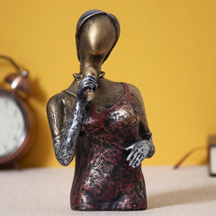 MSMAN504-eCraftIndia-Singing-Lady-Decorative-Statue_1