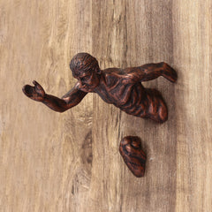 MSMAN508-eCraftIndia-Man-in-Running-Position-Decorative-Wall-Hanging-Statue_1