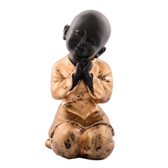 ecraftindia-polyresin-golden-child-monk-figurine_1