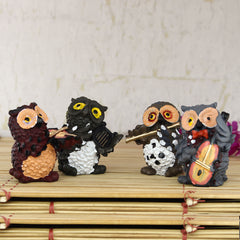 MSOWL500-eCraftIndia-Set-of-4-Owls-Playing-Musical-Instruments_1
