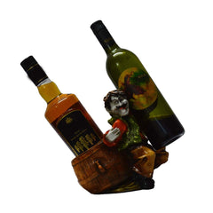 eCraftIndia Wine Holder for 2 Bottles