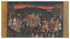 PPAP022-eCraftIndia-Mughal-King-with-his-Convoy-Original-Art-Paper-Painting_1