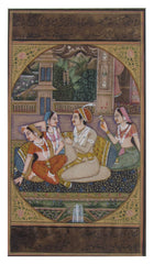 PPAP028-eCraftIndia-Melodious-Sprink-Mughal-Painting-Original-Art-Paper-Painting_1