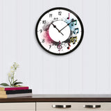 ecraftindia-music-signs-designer-round-analog-black-wall-clock_2