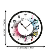 ecraftindia-music-signs-designer-round-analog-black-wall-clock_4