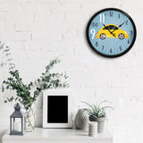 "ecraftindia-""taxi-no.-9-do-11""-designer-round-analog-black-wall-clock_3"