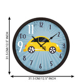 "ecraftindia-""taxi-no.-9-do-11""-designer-round-analog-black-wall-clock_4"