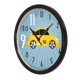 "ecraftindia-""taxi-no.-9-do-11""-designer-round-analog-black-wall-clock_5"