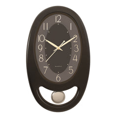PWCK707_BLACK-eCraftIndia-Black-Plastic-Vertical-Pendulum-Analog-Wall-Clock-(15.5*9.5-Inches)_1