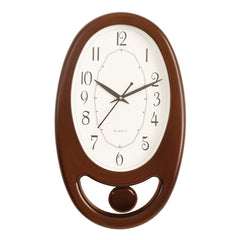 PWCK707_COLA-eCraftIndia-Brown-Plastic-Vertical-Pendulum-Analog-Wall-Clock-(15.5*9.5-Inches)_1
