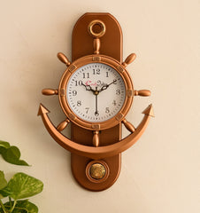 pwcplz101_cop-ecraftindia-decorative-retro-anchor-copper-pendulum-wall-clock_1