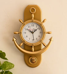 pwcplz101_g-ecraftindia-decorative-retro-anchor-golden-pendulum-wall-clock_1