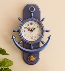 pwcplz101_pur-ecraftindia-decorative-retro-anchor-blue-pendulum-wall-clock_1