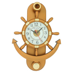 PWCPLZ102_COP-eCraftIndia-Decorative-Retro-Anchor-Copper-Pendulum-Wall-Clock_1