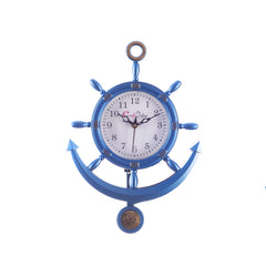 ecraftindia-decorative-retro-anchor-blue-pendulum-wall-clock_1